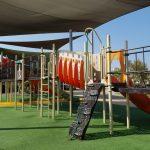 גן משחקים גדול של עירית תל אביב ליד גדת הירקון