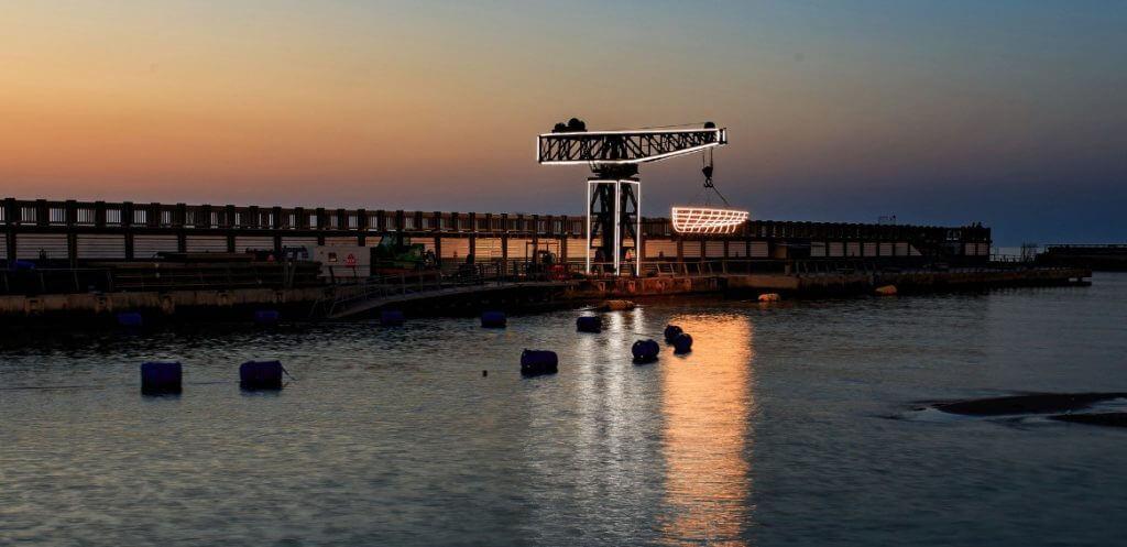 המנוף בנמל תל אביב